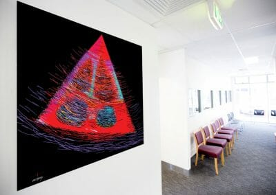 Nigel Lazenby - The Launceston Heart Centre - waiting room
