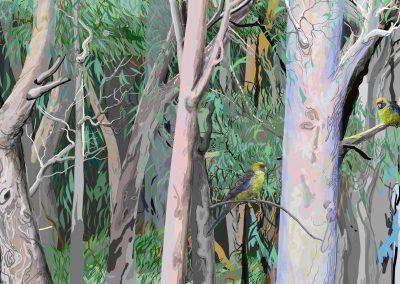Tasmanian Green Rosella